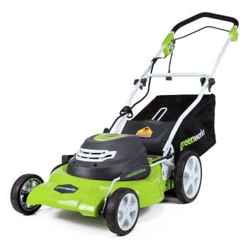 Greenworks 20-Inch 12 Amp Corded Lawn Mower
