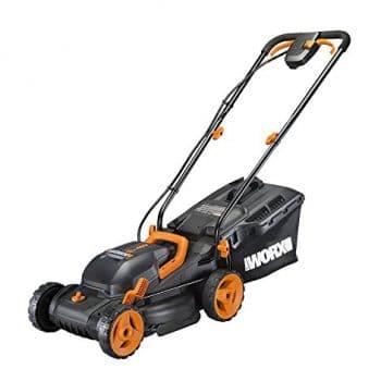 "Worx WG779 40V (4.0AH) Cordless 14"" Lawn Mower"
