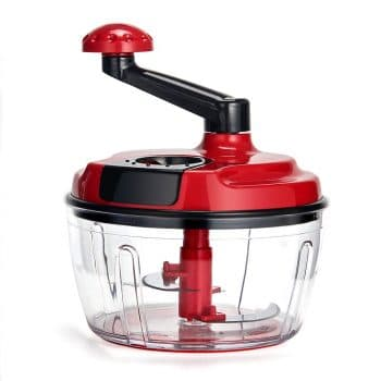 Momugs 8 Cup Red Food Processor