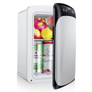 Housmile 12V Portable Mini Car Fridge Cooler Warmer Refrigerator 7L For Travel