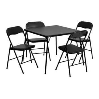 Flash Furniture 5-Piece Folding Table and Chair Set