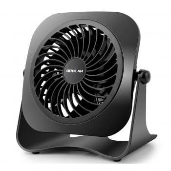 OPOLAR 4-Inch Mini USB Desk Fan