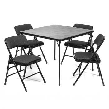 XL Series Folding Card Table and 4-Chairs