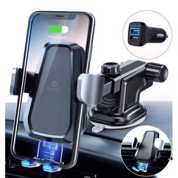 Andobil Fast Wireless Car Charger Mount Kit