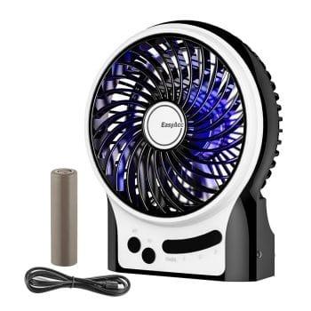 EasyAcc Rechargeable Battery Handheld USB Fan