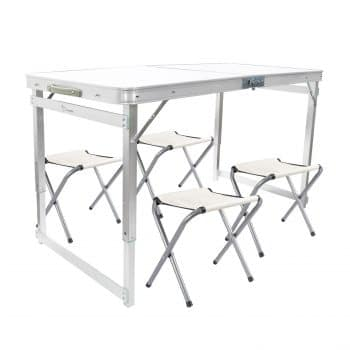 FrenzyBird 4-Person Folding Picnic Table Set