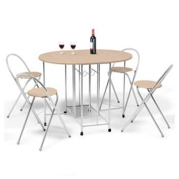 Giantex 5PC Foldable Dining Set