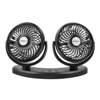SkyGenius Dual Head USB Desk Fan