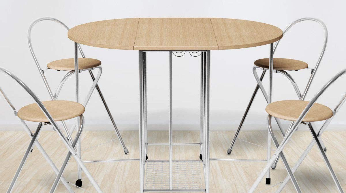Top 10 Best Folding Table And Chairs In 2019 Kitchen Home
