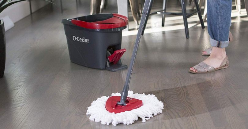 spin mop and buckets