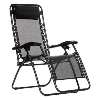 AmazonBasics Outdoor Zero Gravity Folding Chair