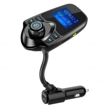 Nulaxy Car Bluetooth FM Transmitter
