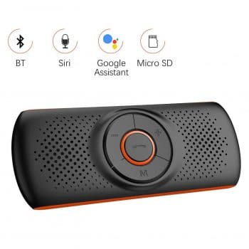 Aigoss Bluetooth 4.2 Speakerphone for Car