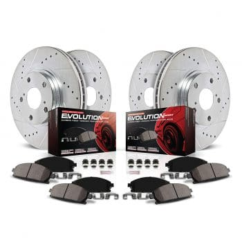Power Stop K2798 Brake Rotors and Pads