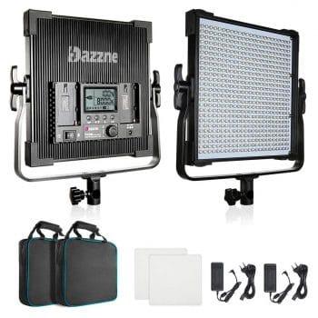Bi-Color LED Video Lighting Kit