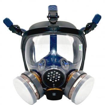 UOPASD Organic Vapor full-face Respirator gas mask with Carbon Air Filter