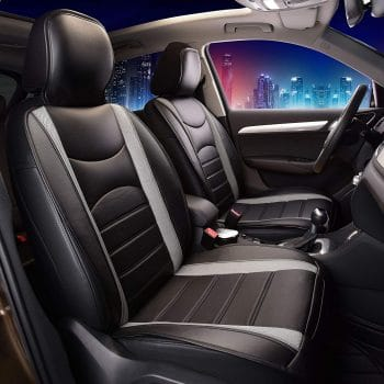 FH Group Leatherette Car Seat Cover