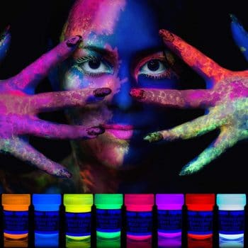 Neon Nights 8 UV Body Paints