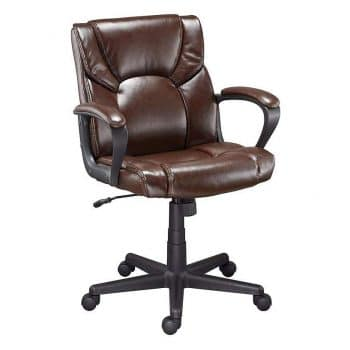 Staples 272093 Montessa Brown Luxura Managers office Chair