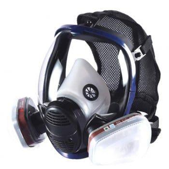 Holulo Organic Vapor Paint, Polish Chemicals Full Face Respirator