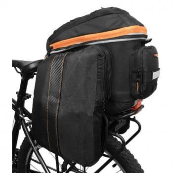 Ibera 2 in 1 PakRak Commuter Bike Trunk Bag