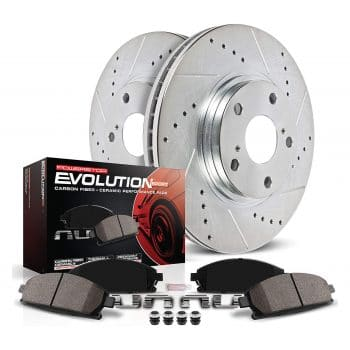 Power Stop K3097 Brake Rotors and Pads