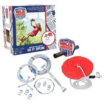 ANW American Ninja Warrior Zipline
