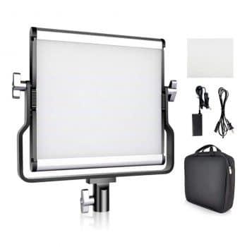 FOSITAN Bi-Color LED Video Light Kit