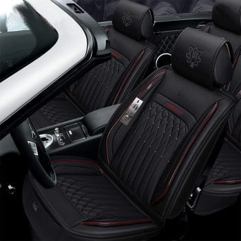 INCH EMPIRE Leather Car Seat Cover