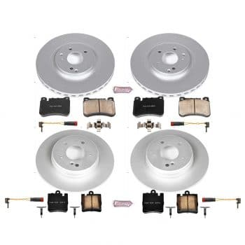 Power Stop CRK2792 Rotors Brake and Pads Kit