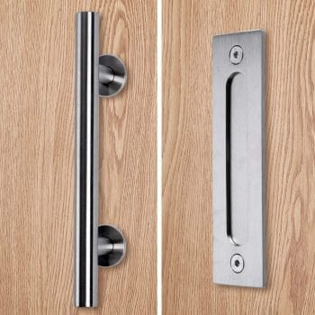 Running Stainless Barn Door Pull Handle
