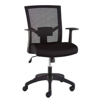 Staples 2630432 Ardfield Black Mesh Office Chair