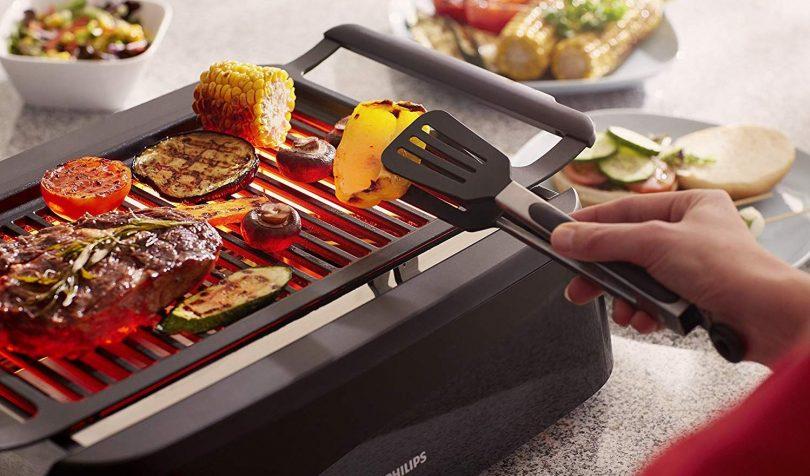 smokeless indoor grills