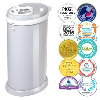 UBBI Steel Odor Locking Diaper Pail