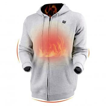 Dr.Qiiwi Men's & Women's Outdoor Heated Hoodie