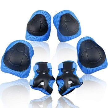 Wemfg 3-in-1 Knee Pads for 2-8 Years Toddler with Elbow Pads & Wrist Guards