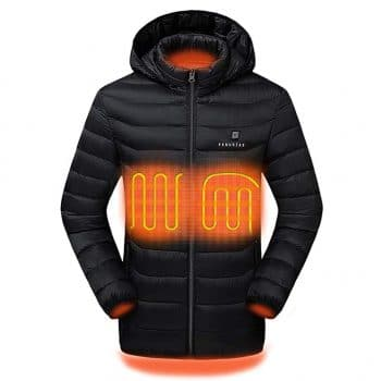 Venustas 2019 Upgrade Unisex Heated Jacket