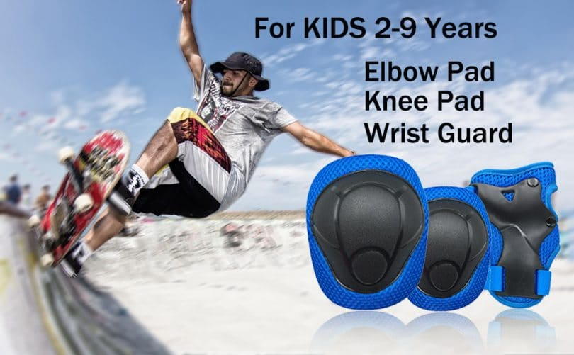 Knee Pads with Elbow Pads