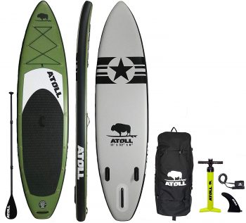 Atoll 11' Foot Hobbie Paddle Board