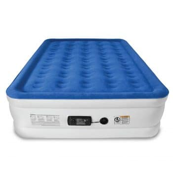 SoundAsleep Dream Series Queen Size Air Inflatable Airbed w/ ComfortCoil Technology