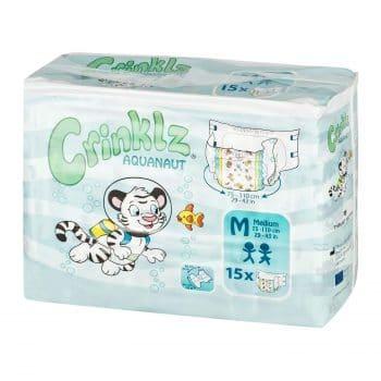 Ckinklz Tab-Style Adult Printed Diapers