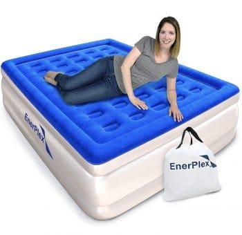 EnerPlex Queen Inflatable Bed with inbuilt Pump
