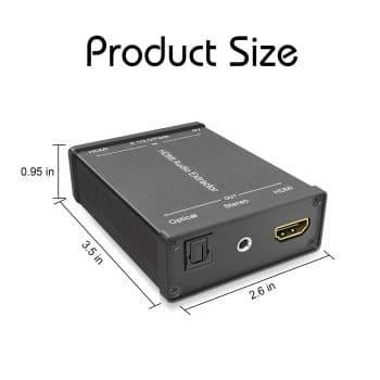 LVY HDMI Audio Extractor
