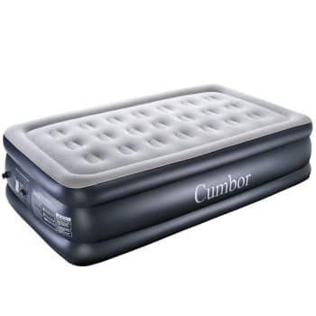 Cumbor Twin XL Inflatable Bed with inbuilt-in Pump