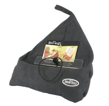 The Book Seat Book Holder Travel Pillow