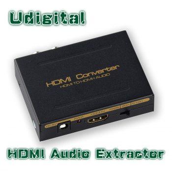 Udigital HDMI Audio Extractor