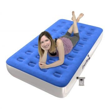 EnerPlex Never-Leak Twin Size Inflatable Blow Up Bed