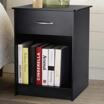 INTEY Nightstand with Drawer