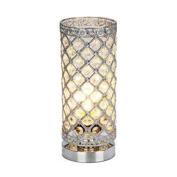 Seaside Village Crystal Table Lamp