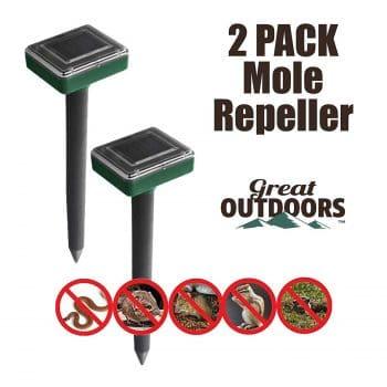 Great Outdoors Premium Mole Repellent, 4-Pack